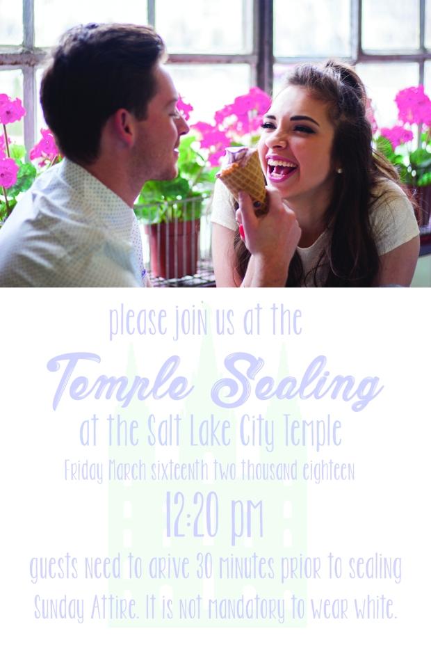 Lauren and Hayden temple sealing